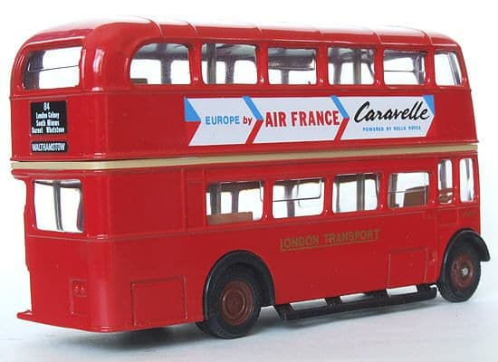 EFE 10116 AEC Regent RT ' London Transport ' Air France - Route 84 Waltamstow - PRE OWNED